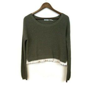 Kimchi Blue Urban Outfitters Womens Crop Sweater